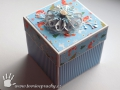 Vánoční krabička na peníze