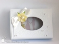 Dárková krabička se svatebním přáním