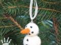 Přívěsek sněhulák
