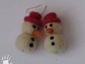 Sněhuláci v klobouku