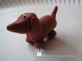 Pes z plastelíny