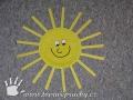 Sluníčko z tácku