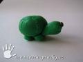 Želva z plastelíny