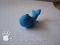 Velryba z plastelíny