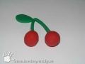 Třešně z plastelíny
