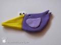 Pták z plastelíny