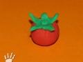 Rajče z plastelíny