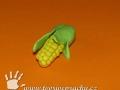 Kukuřice z plastelíny