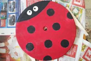 Malování houpačky