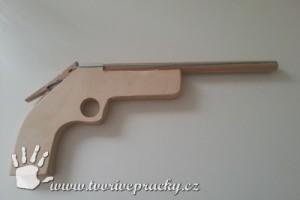 Pistol na gumičky