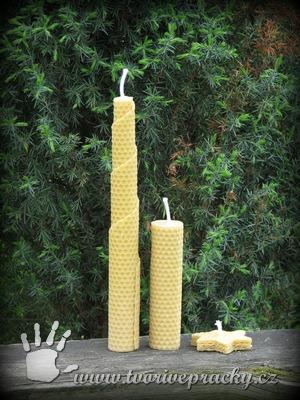 Svíčky z přírodního vosku