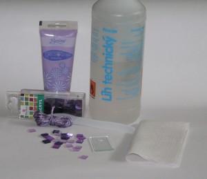 Potřeby k výrobě skleněného přívěsku