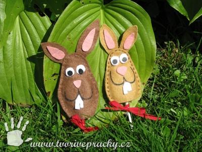 Velikonoční obaly na lízátka