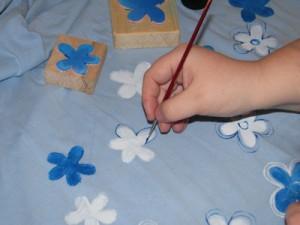 Malování obrysů