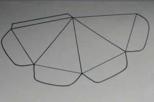 Nákres papírové mrkve