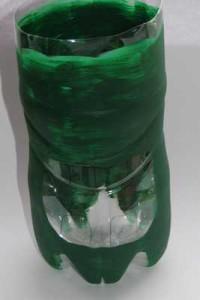 Natřená PET láhev