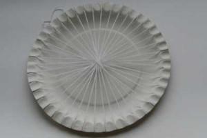 Příprava osnovy na tkaní podšálku