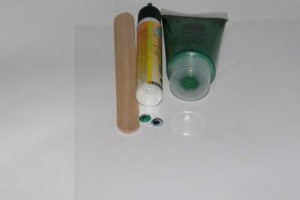 Materiál k výrobě vážky