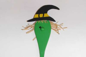 čarodějnice z vařečky - obličej