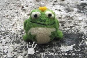 Plstěná žába