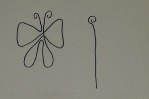Nákres motýla