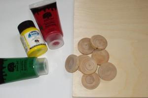 Materiál na výrobu piškvorek