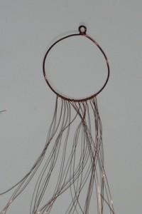 Kruh s navázanými dráty