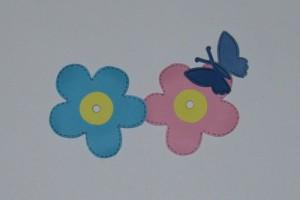Květy s motýly