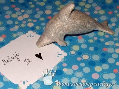 Delfín z mastku