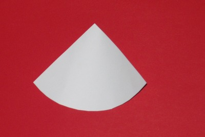 Základ pro kornout z papíru