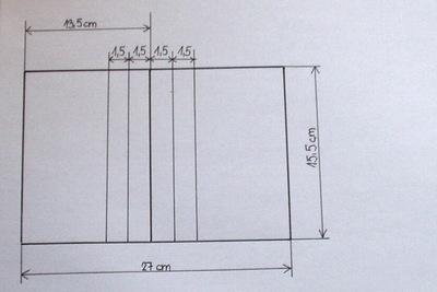 Nákres rozměrů