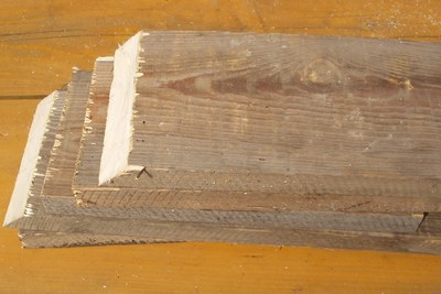 Nařezané dřevo