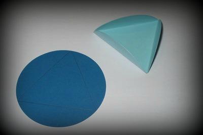 Ohýbání koleček do trojúhelníků