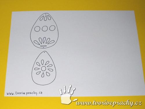 Šablona vajíčka