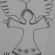 Drátovaný anděl