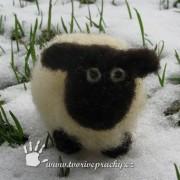 náhled plstěná ovečka