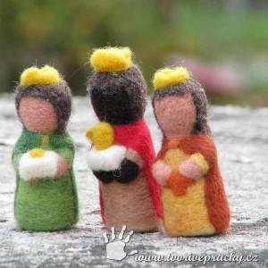 Plstění tři králové