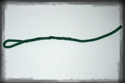 Smotání chlupatého drátku na tělo hada
