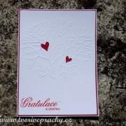 Svatební přání se stromem