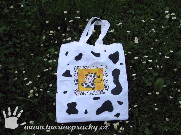 Taška s krávou