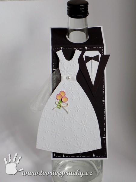 Visačka na dárek - svatba