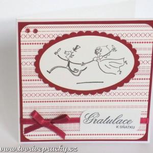 Svatební přání se šíleným párem