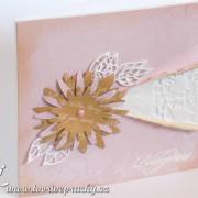Růžovo-hnědé přání