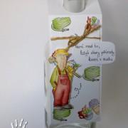 Visačka na láhev - zahradník