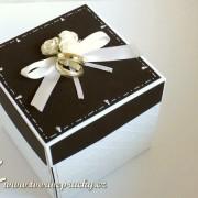 Svatební krabička, exploding box