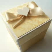 Luxusní svatební krabička
