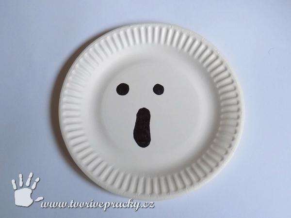 Duch na papírovém talíři