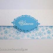 Vánoční obálka na peníze/voucher