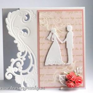 svatební přání s okrajem