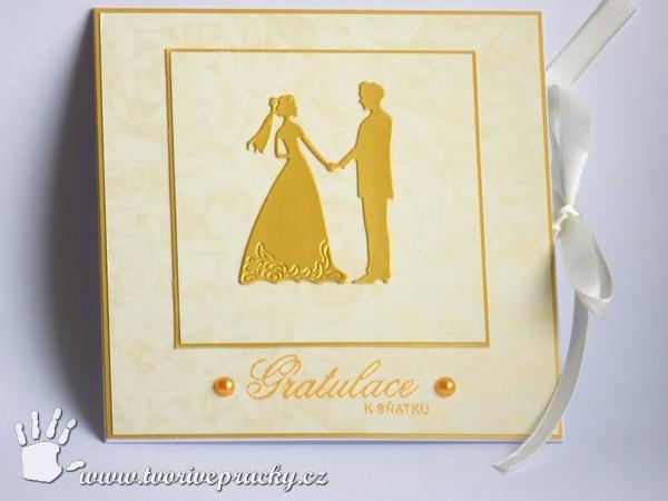 Zlaté svatební přání